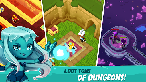 Maze Escape - Dungeon Heroes RPG