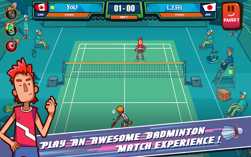 Super Stick Badminton (Unreleased)