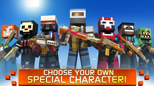 Craft Shooter Online: Guns of Pixel Shooting Games