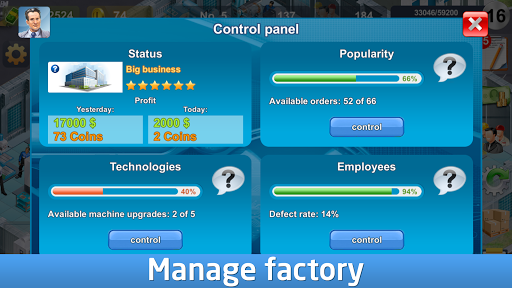 Industrialist – factory development strategy