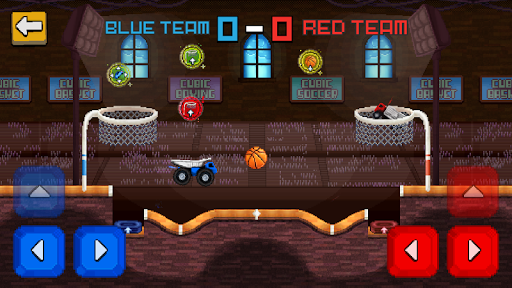Pixel Cars. Basketball