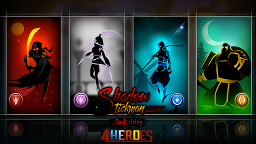 Shadow Stickman: Dark rising – Ninja warriors