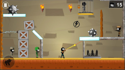 Stickman Shooter: Elite Strikeforce