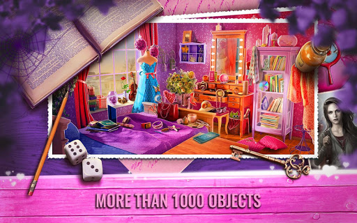 Vampire Love Story Game with Hidden Objects