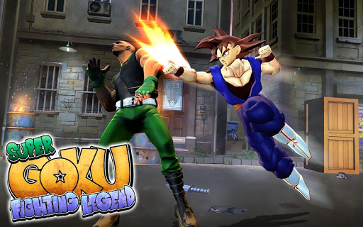 Super Goku Fighting Legend Street Revenge Fight