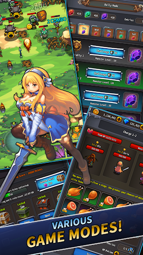 Wonder Knights : Retro Shooter RPG
