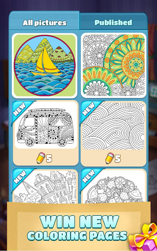Coloring Book Blast - A Collapse & Color Game