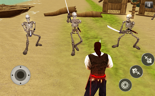 Pirates Caribbean: Dead Army - Arena Sword Fight