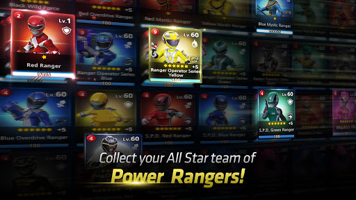 Power Rangers : All Stars