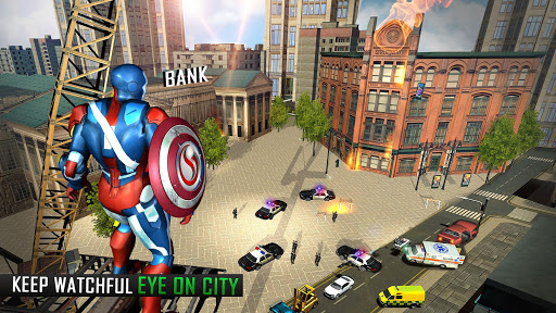 Super Captain Flying Robot City Rescue Mission