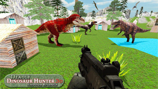 Deadly Dinosaur Hunter Revenge Fps Shooter Game 3D