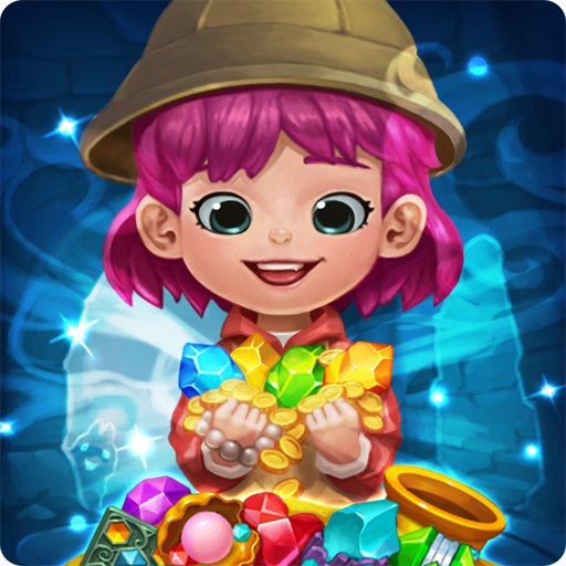 Jewels fantasy: match 3 puzzle
