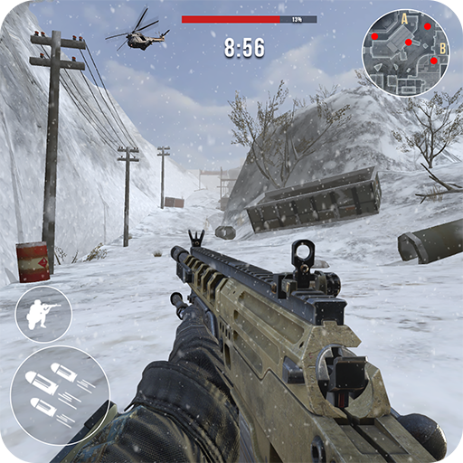 Rules of Modern World War Winter FPS Shooting Game v3.2.5 (Free Shopping) logo
