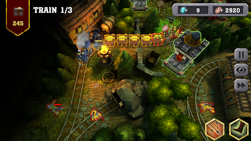 Train Tower Defense