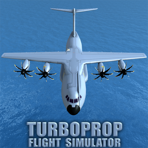 Turboprop Flight Simulator 3D v1.25.3 (Mod Apk Money) logo