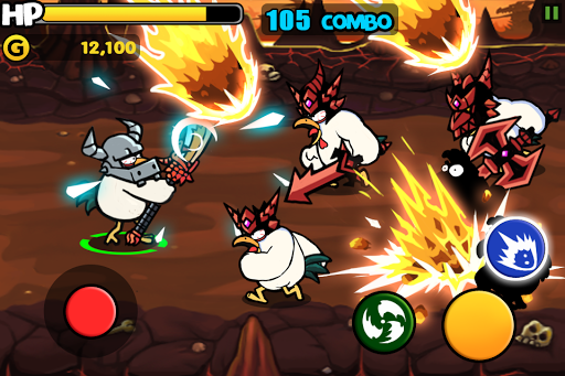 Chicken Revolution : Warrior