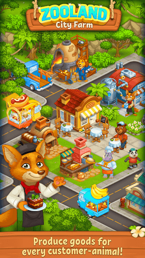 Farm Zoo: Happy Day in Animal Village and Pet City