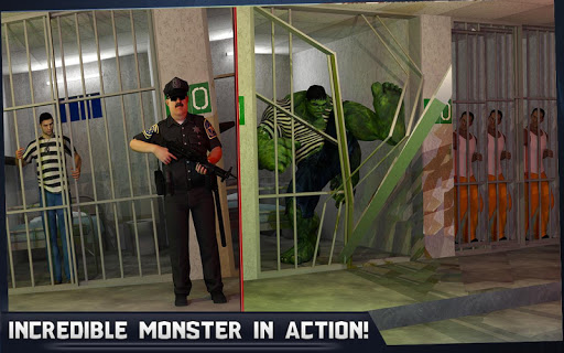 Incredible Monster Hero: Super Prison Action Games