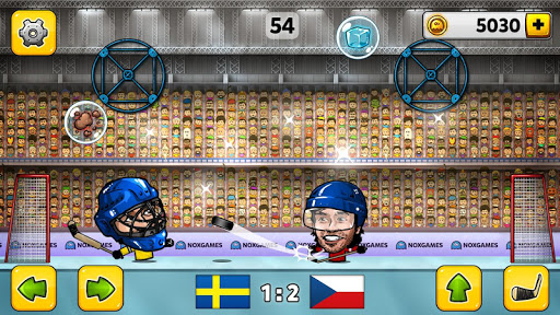 🏒Puppet Ice Hockey: Pond Head 🏆
