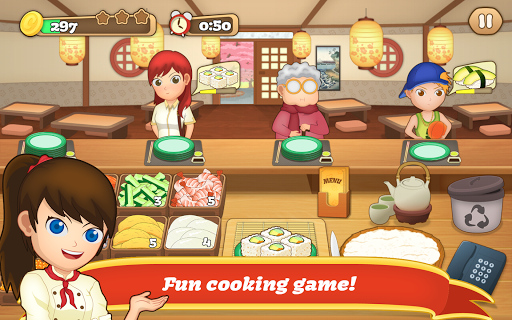 Sushi Fever - Cooking Game