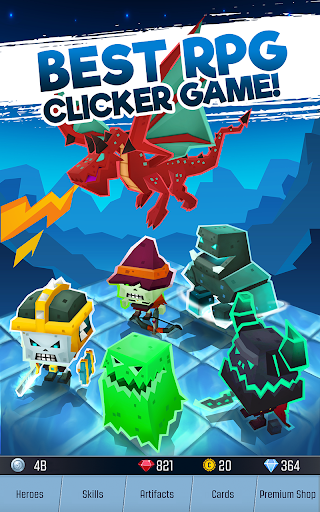 Tap Adventure Hero: Idle RPG Clicker, Fun Fantasy