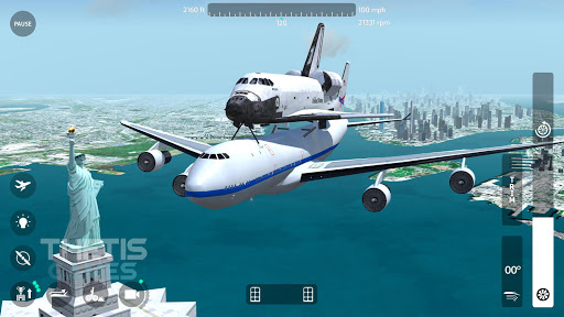 Flight Simulator 2018 FlyWings Free