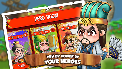 Three Kingdoms Dynasty TD: Battle of Heroes