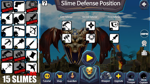 15 Slimes : Last Defense