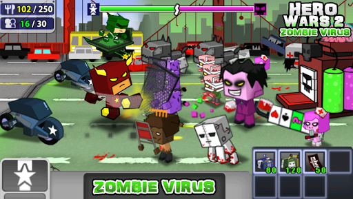 Hero Wars 2™ Zombie Virus