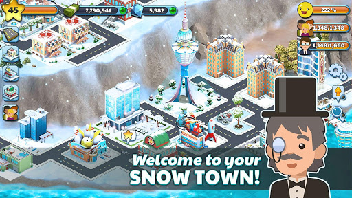 Snow Town - Ice Village World Winter Age