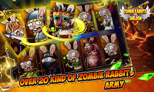 Zombie Rabbits vs Sheldon