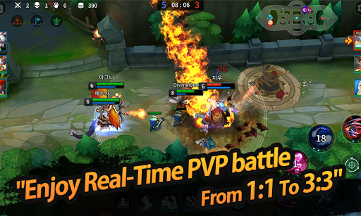 League of Masters : Legend PvP MOBA Battle