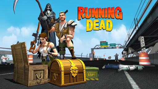 The Running Dead -Zombie Shooting Running FPS Game