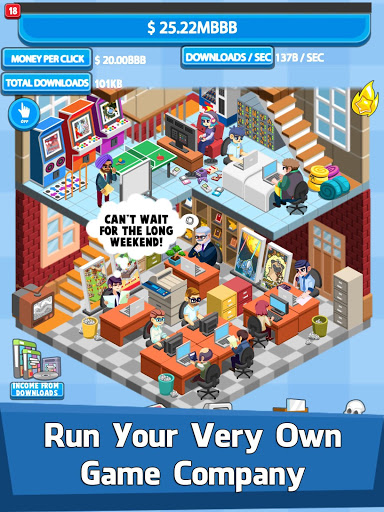 Video Game Tycoon - Idle Clicker & Tap Inc Game