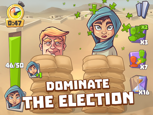 Vote Blitz! Clicker arcade & idle politics game