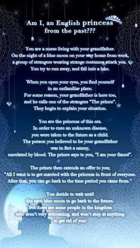 Blue Moon Princess: Romance You Choose