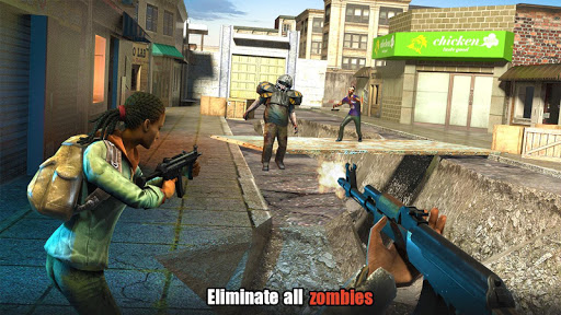 Hopeless Raider-Zombie Shooting Games