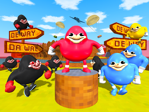 Ugandan Knuckles Battle Royale Online Survival