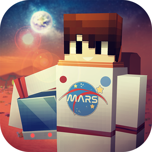 Mars Craft: Crafting & Building Exploration