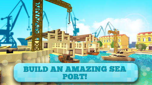 Port Craft: Paradise Ship Boys Craft Games
