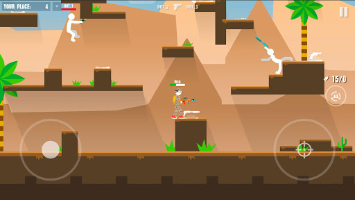 Stickman Battles: Online Shooter