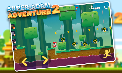 Super Adam Adventure 2 - More Levels