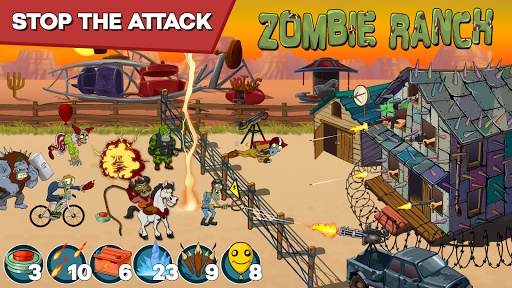Zombie Ranch - Battle with the zombie
