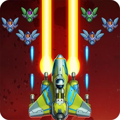 Galaxy Invaders: Alien Shooter v1.4.1 Mod Apk (Unlimited Coins/Gems) logo