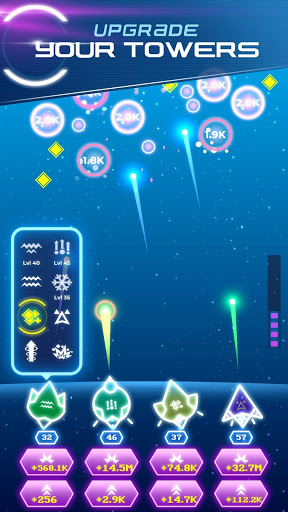 Non-Stop Space Defense - Infinite Aliens Shooter