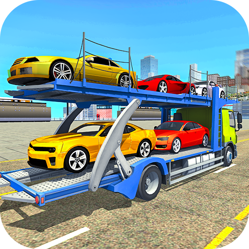 Transport Car Carrier Cargo Truck Simulation