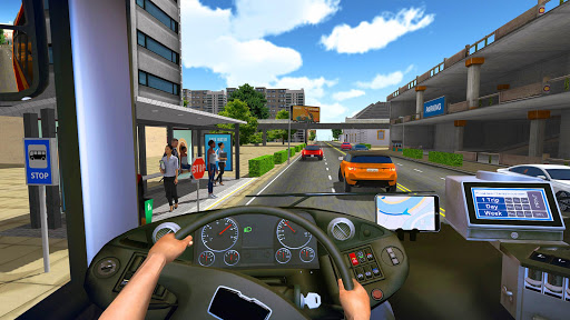 Bus Simulator 2018: City Driving