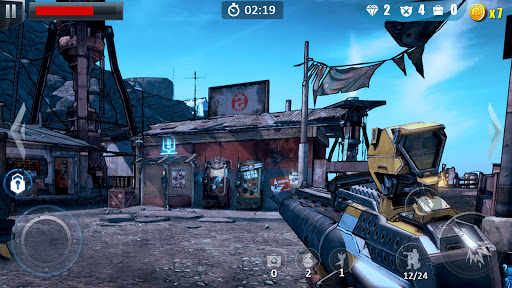 Commando Fire Go- Armed FPS Sniper Shooting Game