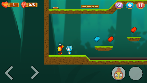 Fire and Water Couple: Online Platformer