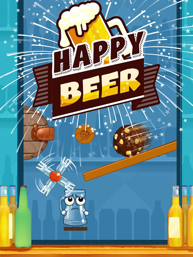 Happy Beer Glass: Pouring Water Puzzles
